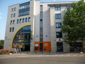 Praxiseingang Europaplatz